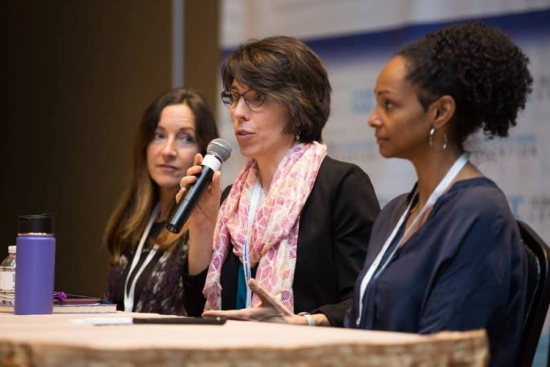 2017 Global Crowdfunding Convention, Las Vegas, Kathleen Minogue, Amy Cortese, Bari A. Williams, Locavesting, Crowdfund Better